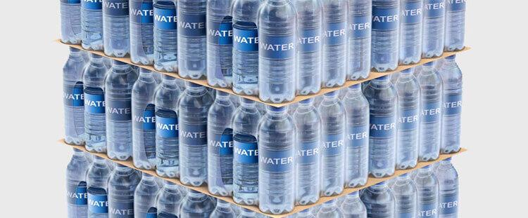 تمامی محصولات که نیاز به پک شدن دارند، مانند آب بطری های آب معدنی میتوان با دستگاه شیرینگ پک آن ها را بسته بندی نمود