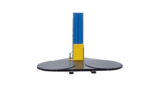 دستگاه استرچ پالت صفحه گردان