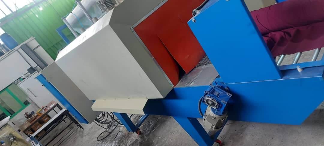 نمونه دستگاه شیرینگ پک تونلی