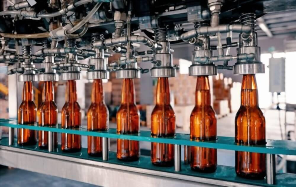 سیستم پرکن مایعات مثل الکل