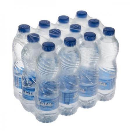 شیرینگ کردن بطری های آب معدنی